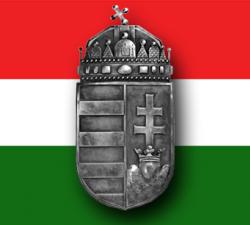 Magyar címer pajzs